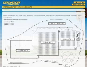 Grondor - Diseño Web Presencial por Soulvi