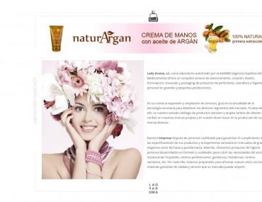 Ladyaroma - Diseño Web Tienda Online por Soulvi