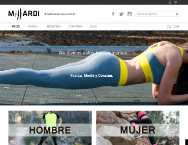 Millardi - Diseño Web Tienda Online por Soulvi