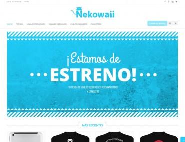 Nekowaii - Diseño Web Tienda Online por Soulvi