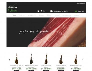 La Jamoneria de Olmedo - Diseño Web Tienda Online por Soulvi