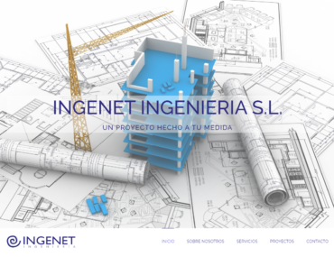 Ingenet - Diseño Web - Web Presencial